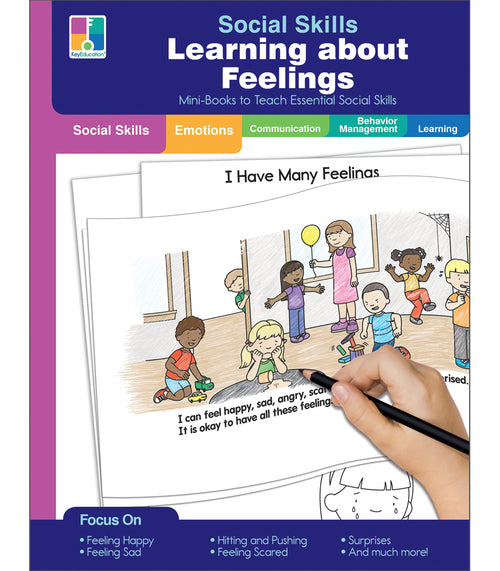 Social Skills Mini-Books Learning about Feelings