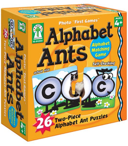 Alphabet Ants Board Game