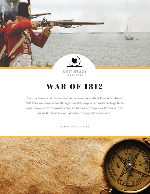 War of 1812 Unit Study