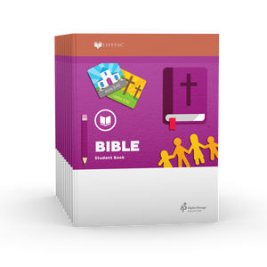 Lifepac Bible 1st Grade Set of 10 LIFEPACs Only