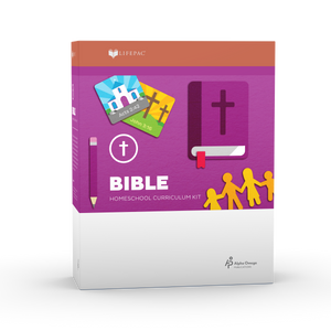 Lifepac Bible 1st Grade Complete Set