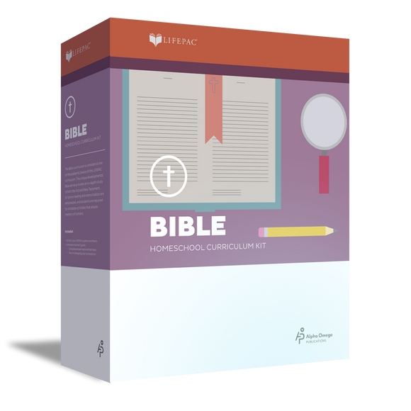 Lifepac Bible 3rd Grade Complete Set
