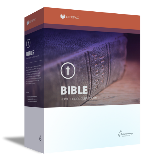Lifepac Bible 7th Grade Complete Set