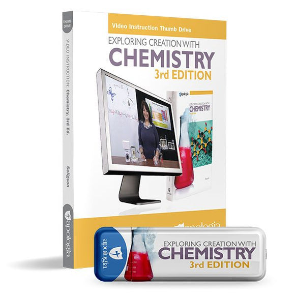 Chemistry 3rd Ed, Video Instruction Thumb Drive