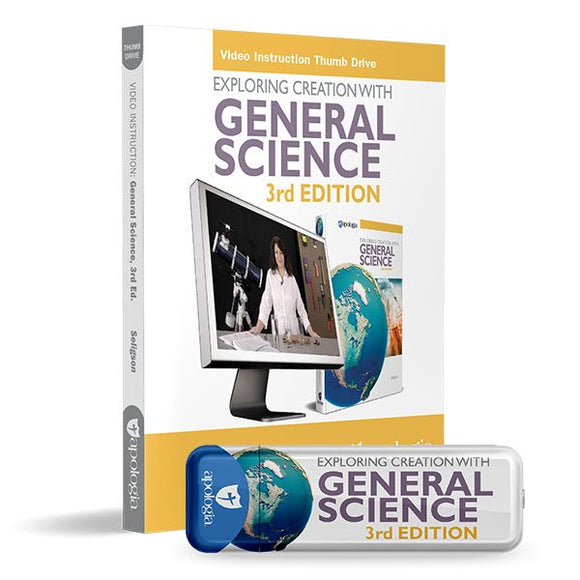 General Science 3rd Ed, Video Instruction Thumb Drive