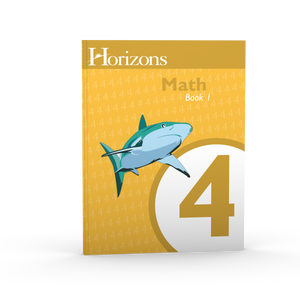 Horizons Math 4th Grade Student books 1 & 2