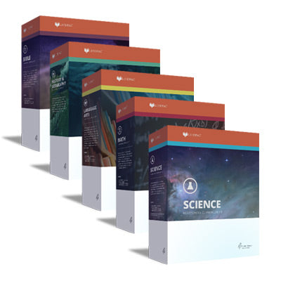 Lifepac 5 Subject Complete Set Grade 12