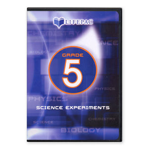 Lifepac 5th Grade Science Experiment DVD