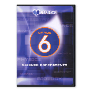 Lifepac 6th Grade Science Experiment DVD