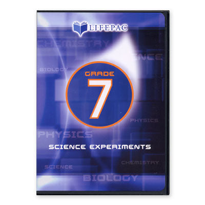 Lifepac 7th Grade Science Experiment DVD