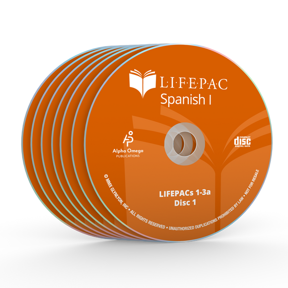 Spanish I CD Set