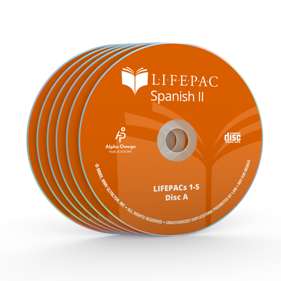 Spanish II CD Set