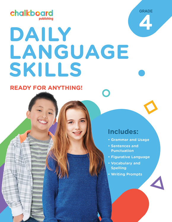 CANADIAN DAILY LANGUAGE SKILLS 4