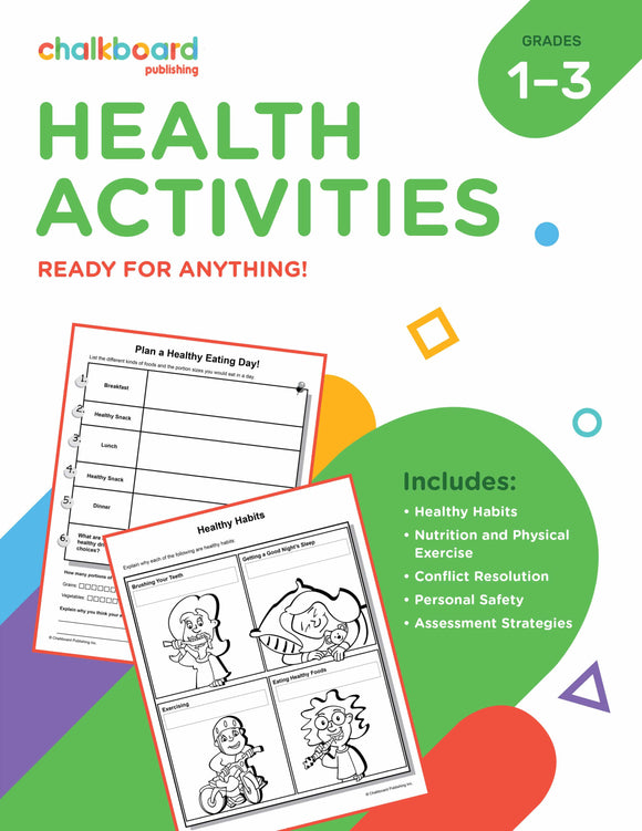 CANADIAN HEALTH ACTIVITIES GRADES 1-3