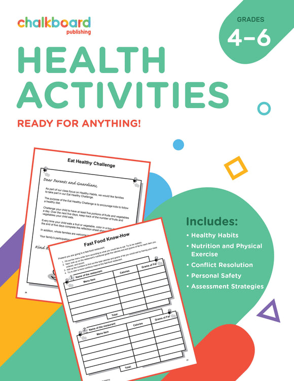 CANADIAN HEALTH ACTIVITIES GRADES 4-6