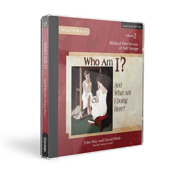 Who Am I? MP3 Audio CD