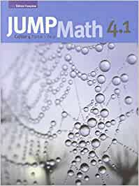 JUMP Math Student Cahier 4.1 (French Edition)