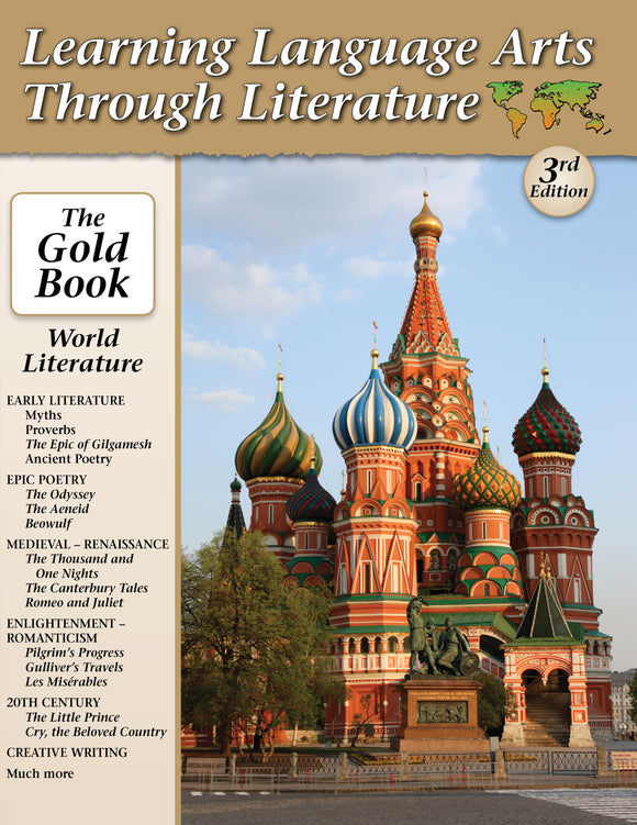 LLATL Gold Book  World Literature  3rd Edition  Notes, Tests, Answers