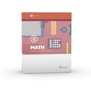 Lifepac Math 4th Grade Complete Set