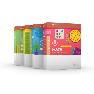 Lifepac Core 4 Subject Set Grade 1