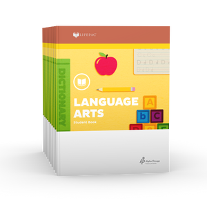 Lifepac Language Arts 2nd Grade Set of 10 LIFEPACs Only