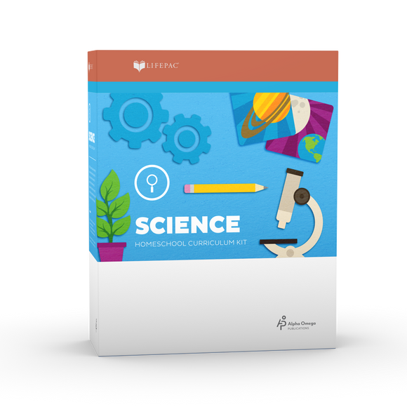 Lifepac Science First Grade Complete Set