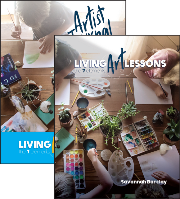 Living Art Lessons Set