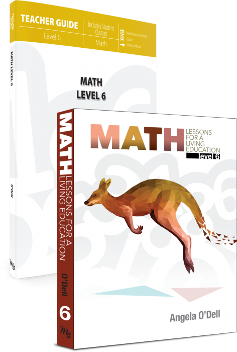 Math Lessons for a Living Education: Level 6 (Set)