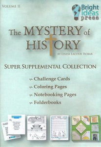 Mystery of History Volume II Super Supplemental Collection CD