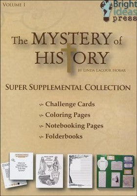 Mystery of History Volume I Super Supplemental Collection CD