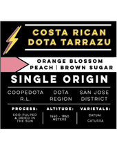 Load image into Gallery viewer, Costa Rican Dota Tarrazu
