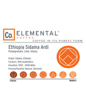 Load image into Gallery viewer, Ethiopia Sidama Ardi