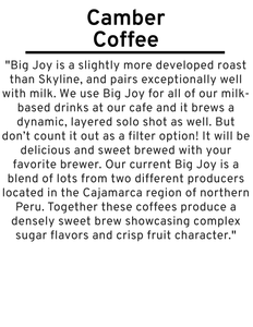 Big Joy Espresso