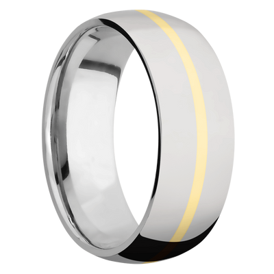 Ring with 1mm Wide Inlay