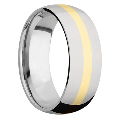 Ring with 2mm Wide Inlay