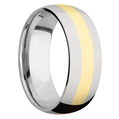 Ring with 3mm Wide Inlay