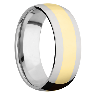 Ring with 4mm Wide Inlay