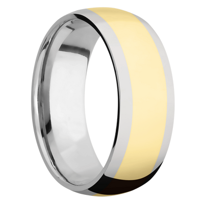 Ring with 5mm Wide Inlay