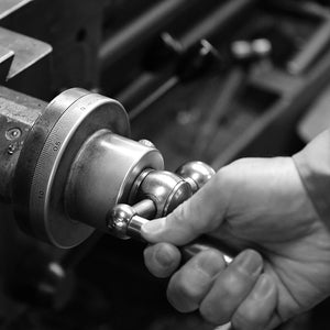 Milling Machine for Custom Made Alternative Men's Wedding Bands