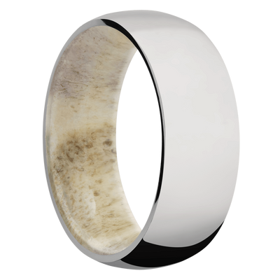 Ring with Antler Sleeve