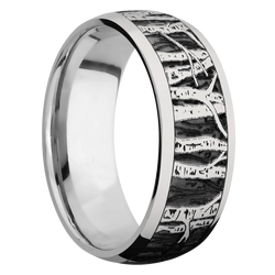 Ring with Aspen Pattern