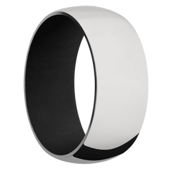 Ring with Black Sleeve