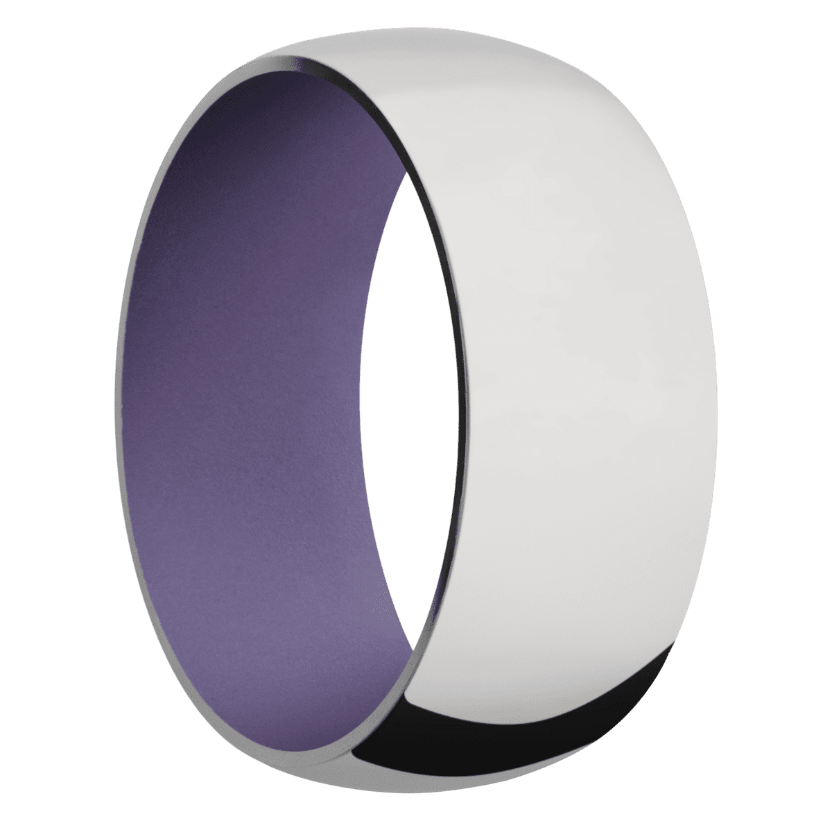 Ring with Bright Purple Sleeve