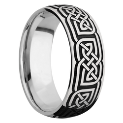 Ring with Celtic 17 Pattern
