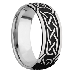 Ring with Celtic 5 Pattern
