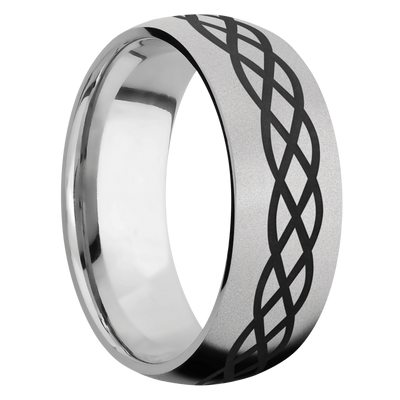 Ring with Celtic 6 Pattern
