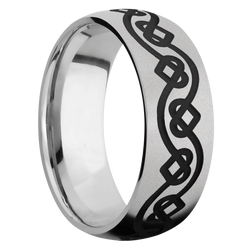 Ring with Celtic Heart Pattern