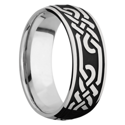 Ring with Celtic Loop U Pattern