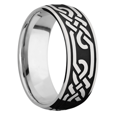 Ring with Celtic Loop Pattern