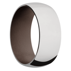 Ring with Chocolate Brown Sleeve